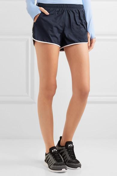 Tory Sport Shorts aus Taft