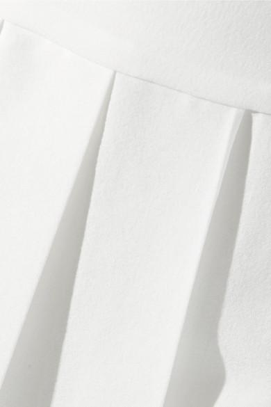 Tory Sport Tennisrock aus Stretch-Material mit Falten