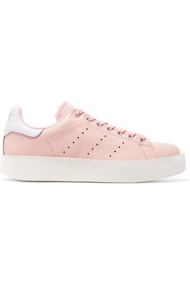 6d1401ed83458c adidas Originals. Stan Smith Bold leather sneakers
