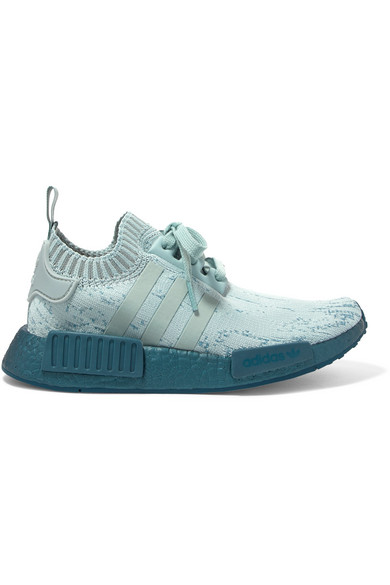 ce5c4b4dfb1f76 Adidas Originals Nmd R1 Rubber-Trimmed Primeknit Sneakers In ...