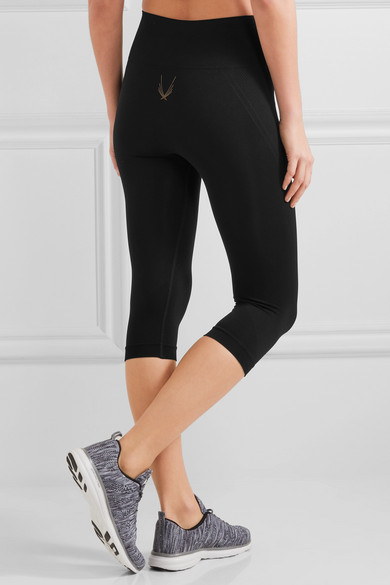 Lucas Hugh Technical Knit Leggings aus Stretch-Material