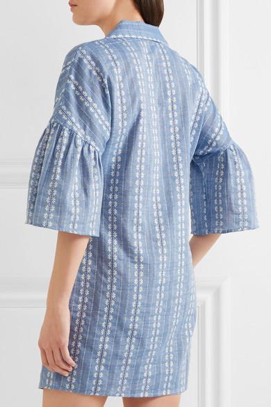 Splendid. Dolman cotton-jacquard mini dress. $235 $117.5050% OFF. Play.  Zoom In
