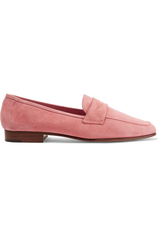 Mansur Gavriel Classic suede loafers