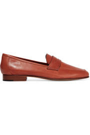 Classic leather loafers