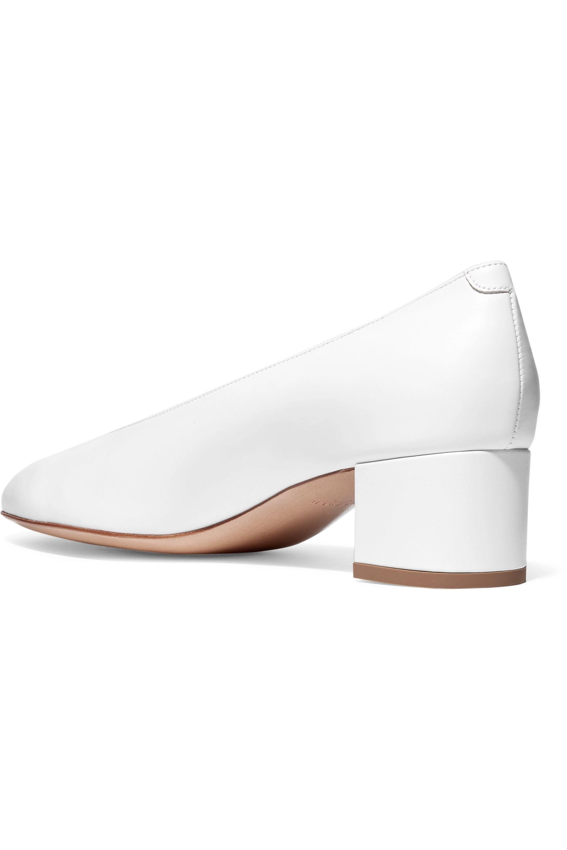 Mansur Gavriel Ballerina leather pumps