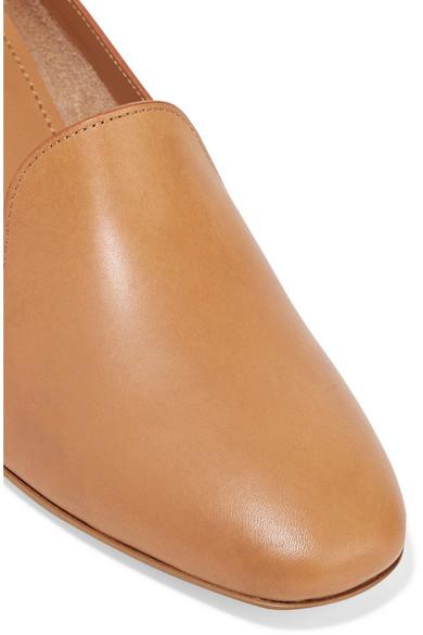38a5ac27073 Mansur Gavriel. Venetian leather loafers. £158. Zoom In