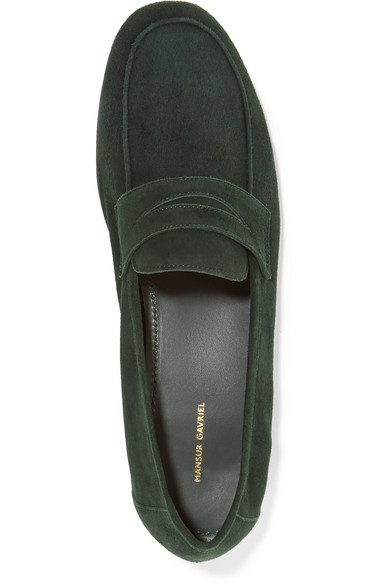 Mansur Gavriel Classic Loafers From Suede