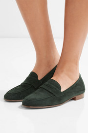 Classic suede loafers