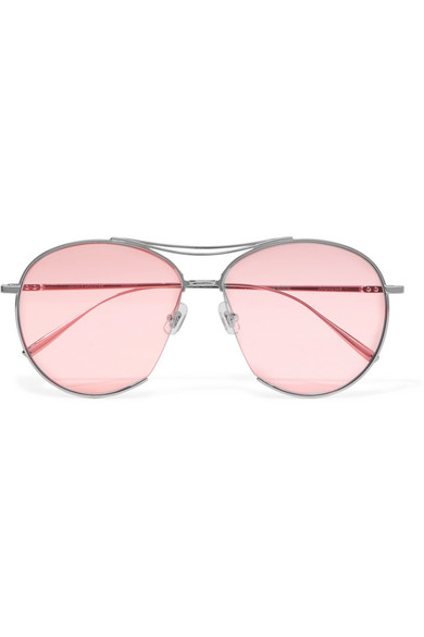 22c87e4a459 Gentle Monster. Jumping Jack Aviator-style Silver-tone Sunglasses