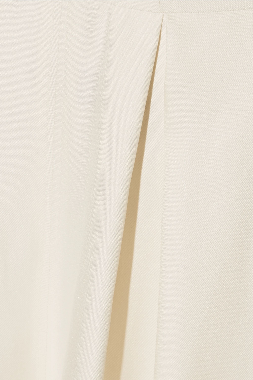 Rosie Assoulin Artichoke Hearts cutout wool and silk-blend satin-twill jumpsuit