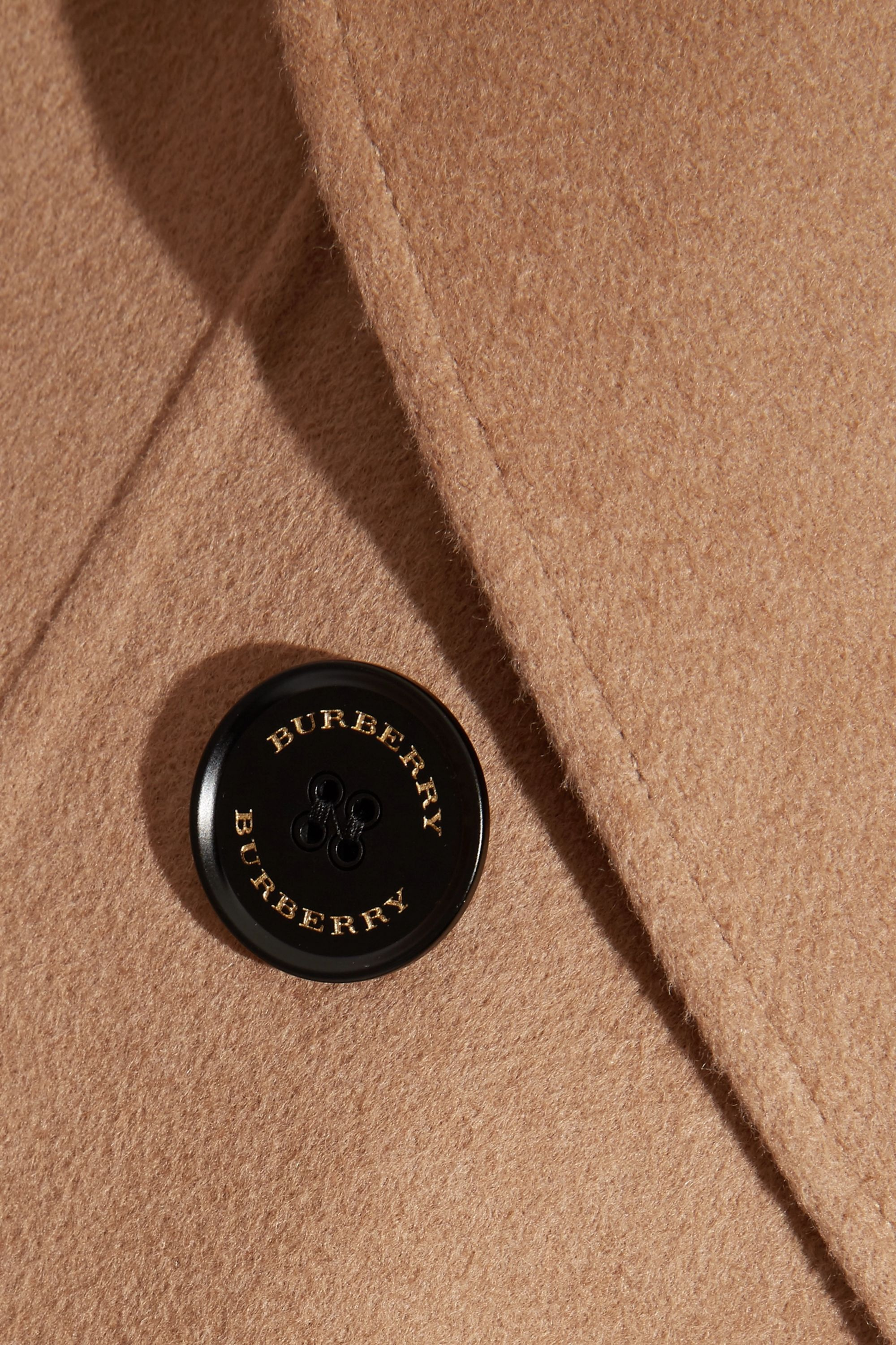 Burberry Crewdale camel hair and wool-blend coat