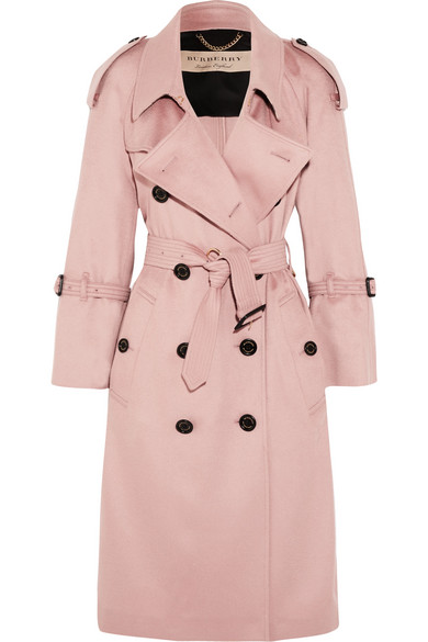Burberry | The Lakestone cashmere trench coat | NET-A-PORTER.COM