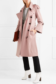The Lakestone cashmere trench coat