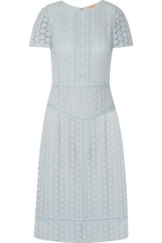 Burberry Guipure lace midi dress