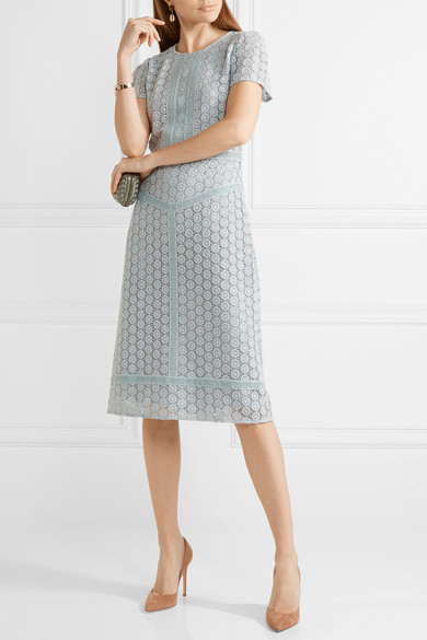 Burberry guipure lace dress net a porter com for Net a porter