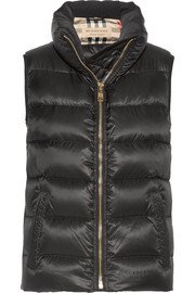 Burberry Quilted shell down gilet