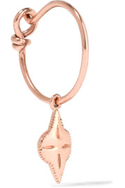 Belleville 9-karat rose gold earring