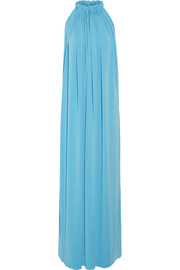 Nannio stretch-crepe maxi dress