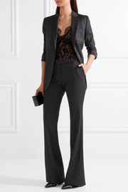 By Malene Birger Earlinna layered lace bodysuit
