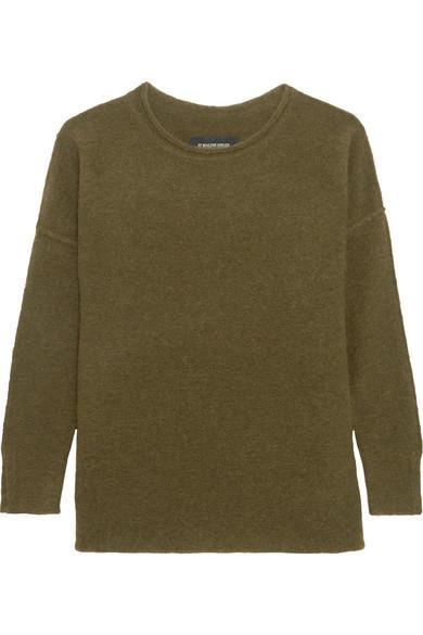 By Malene Birger - Viala Bouclé-knit Sweater - Green