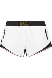 Stolen Base two-tone shell shorts