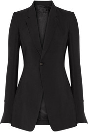 Rick Owens Wool and silk-blend blazer