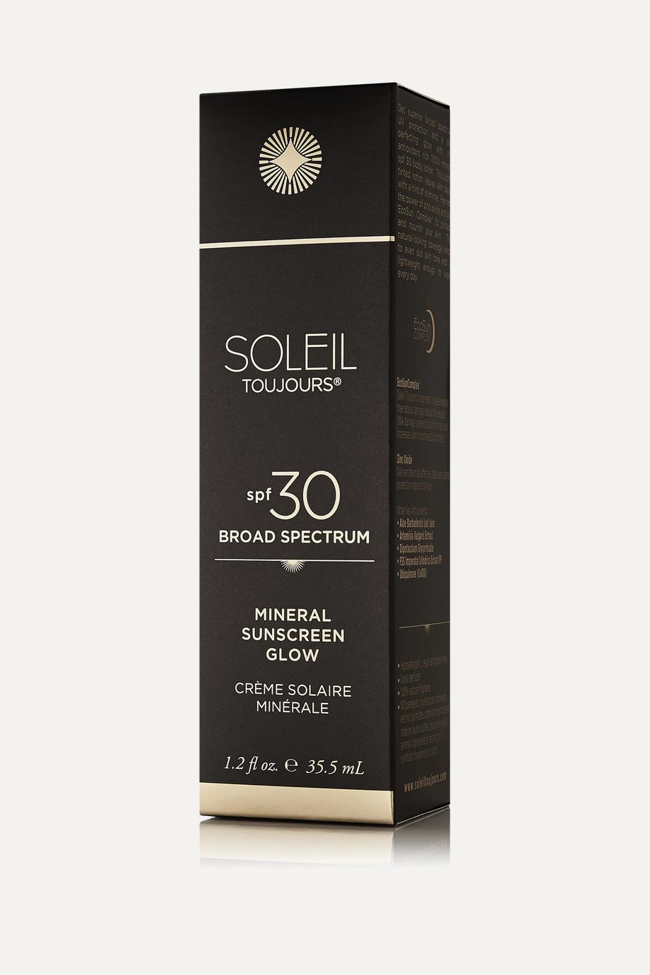 Soleil Toujours + NET SUSTAIN SPF30 Mineral Sunscreen Glow, 94.5ml