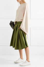 Jil Sander Cotton, cashmere and silk-blend sweater