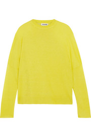 Jil Sander Linen, cashmere and silk-blend sweater