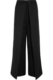 MM6 Maison Margiela Twill wide-leg pants