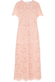 GANNI Duval corded lace midi dress