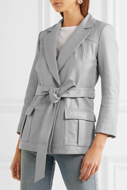 GANNI Passion leather jacket
