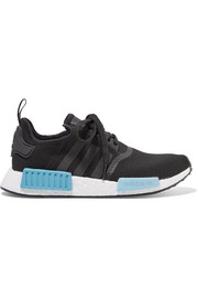 adidas Originals NMD_R1 rubber-paneled Primeknit sneakers