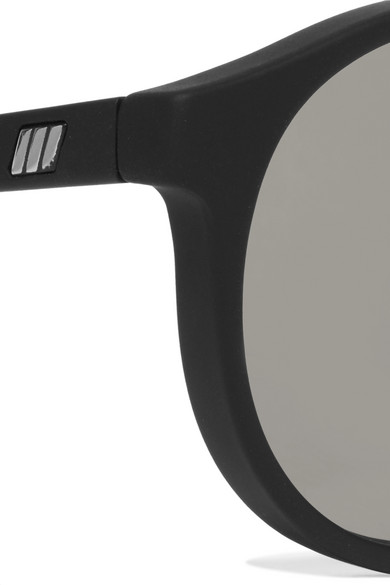 682a9c9191f Le Specs. Cubanos round-frame rubber sunglasses.  49. Zoom In
