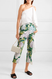 Dolce & Gabbana Stretch-cotton twill straight-leg pants