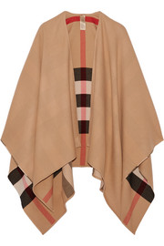 Burberry Reversible checked merino wool wrap