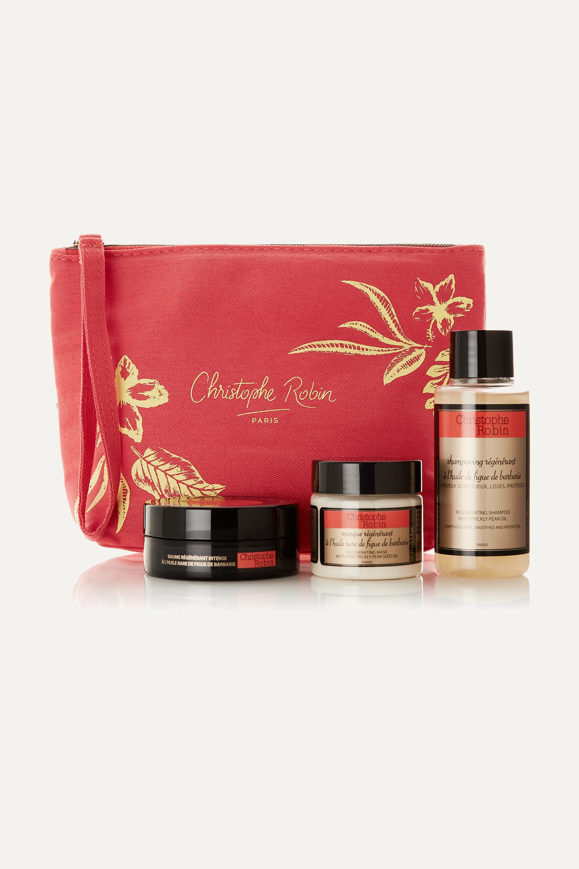 Christophe Robin Regenerating Hair Ritual Travel Kit
