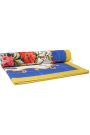 Dolce & Gabbana Printed cotton-terry beach towel