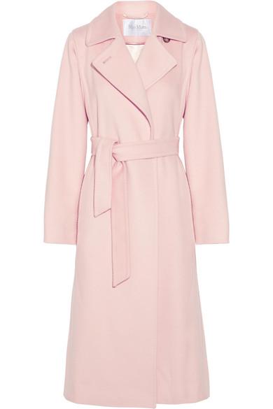 Max Mara - Camel Hair Coat - Pastel pink