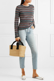 M.i.h Jeans Moonie striped merino wool sweater