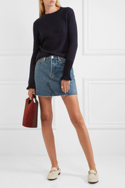 M.i.h Jeans Harpy ribbed cashmere and wool-blend sweater