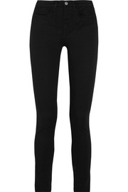 Bodycon high-rise skinny jeans