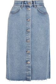 M.i.h Jeans Park denim midi skirt