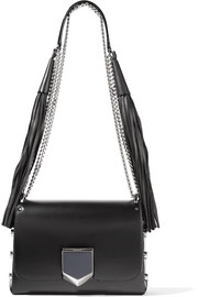 Jimmy Choo Lockett Petite leather shoulder bag