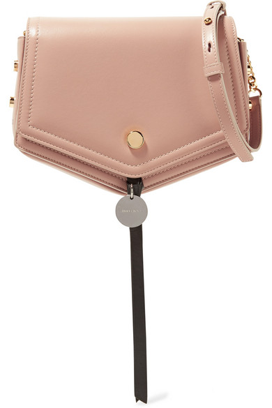 2c8d192fe75a5 Jimmy Choo. Arrow leather shoulder bag