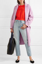 Marni Oversized wool, alpaca and cashmere-blend coat