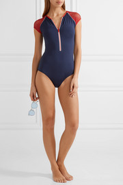Melissa Odabash Honolua mesh-trimmed swimsuit