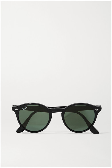 7915031c31 Ray-Ban. Round-frame acetate sunglasses