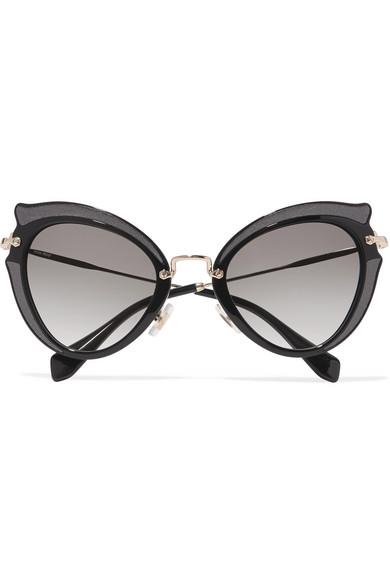 Embellished cat-eye glasses Miu Miu iYgtit