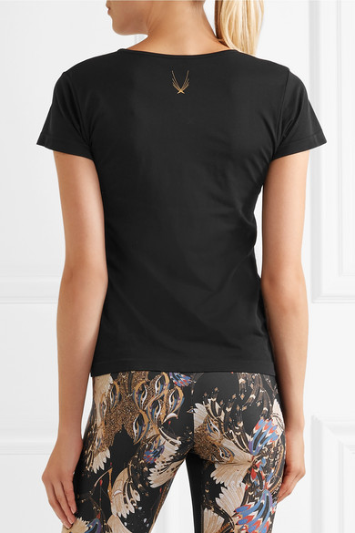 Große Diskont Verkauf Online Spielraum Finish Lucas Hugh Core Technical Knit T-Shirt aus Stretch-Material Billig Großer Verkauf za4qn1
